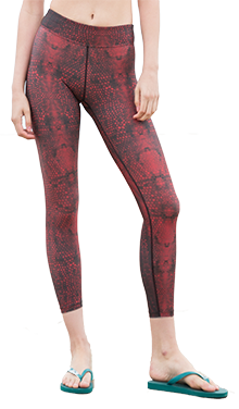 Serpente Capris (Red)