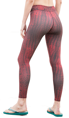 Serpente Leggings (Red)