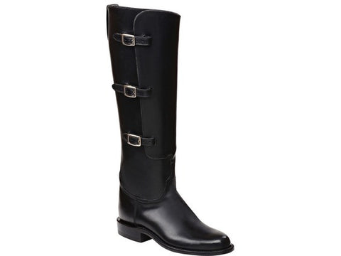 Lucchese Polo Boot Houston Black - PoloWorld.net