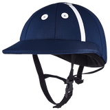 Charles Owen Palermo Polo Helmet I in grey / charcoal - PoloWorld.net