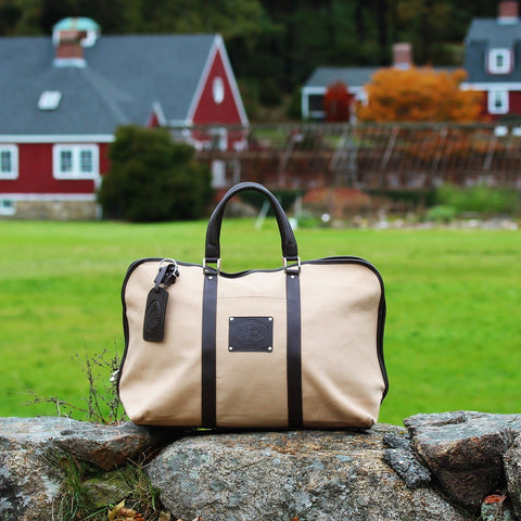 The Harvey Traveler - The Canvas Overnighter Bag - PoloWorld.net