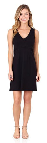 Jude Connally Naomi Ponte Dress in Black - PoloWorld.net