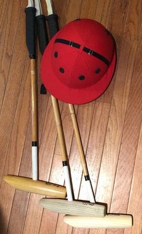 Polo Foot Mallet - Ships with Free Arena Polo Ball! - PoloWorld.net