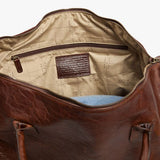 Moore & Giles Benedict Weekend Bag in American Bison - PoloWorld.net