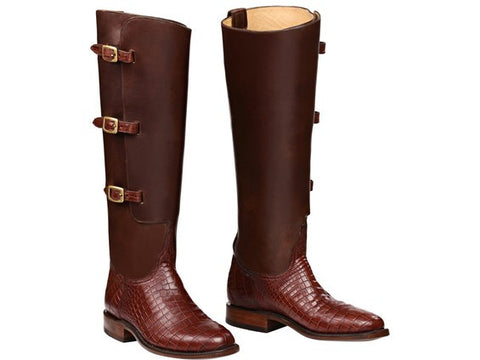 Lucchese Fashion Polo Boots CLARK GY4900.RR - PoloWorld.net
