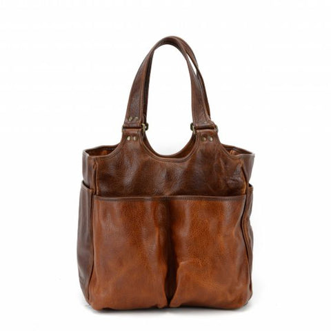 Moore & Giles Belle Picnic or Grooming Bag Nubuck Bison Tan - PoloWorld.net