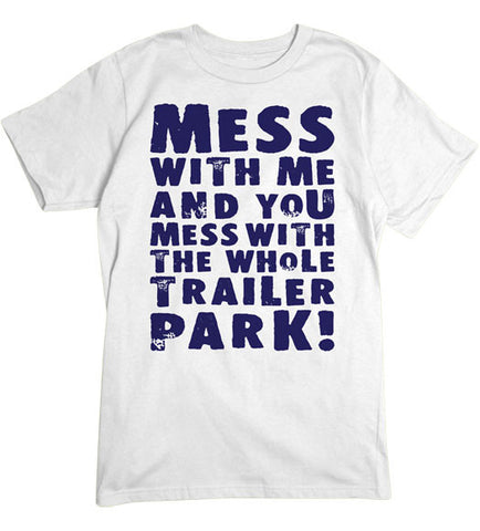 White - Men's Whole Trailer Park Tee