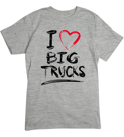 Sport Grey - Men's Big Trucks Basic T-Shirt