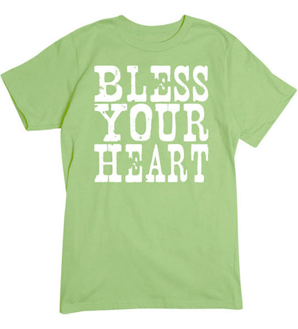 Lime - Men's Bless Your Heart Tee Shirt