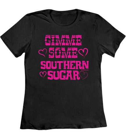 Black - Women's Southern Sugar T-Shirt