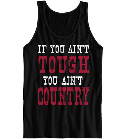 Black - Women's You Aint Tough 2 Tank Top