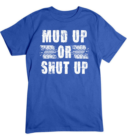 Royal - Men's Mud Up Basic T-Shirt