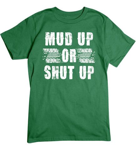 Turf Green - Men's Mud Up Basic T-Shirt