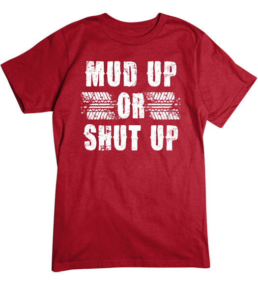 Red - Men's Mud Up Basic T-Shirt
