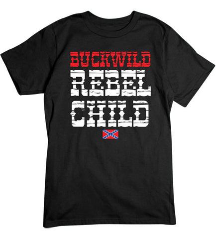 Black - Men's Rebel Child Basic T-Shirt