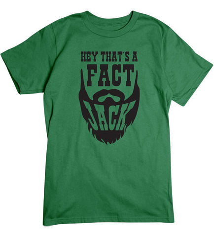 Turf Green - Men's Thats a Fact Basic T-Shirt