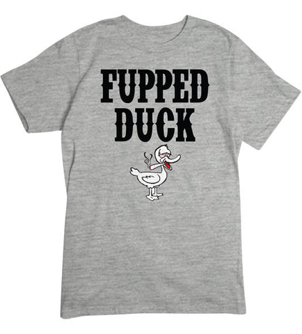 Sport Grey - Men's Fupped Duck Basic T-Shirt