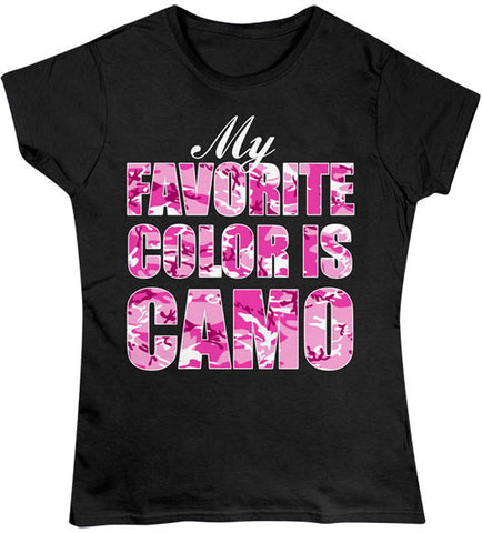 Black - Juniors Favorite Color T-Shirt