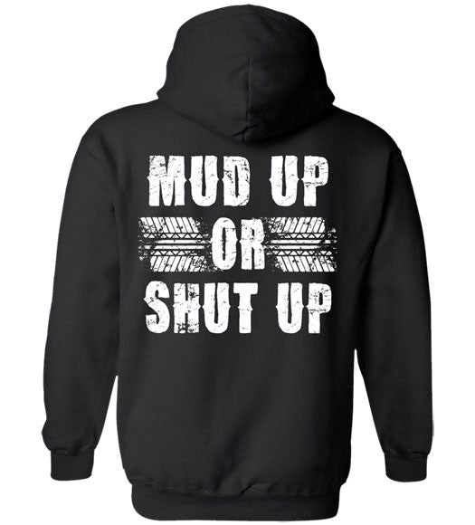 Black - Men's Mud Up Hoodie