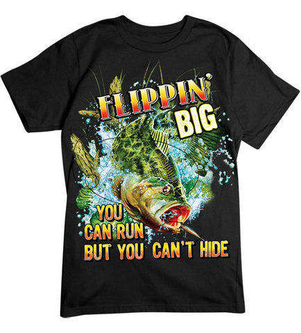 Black - Men's Flippin' Big T-Shirt