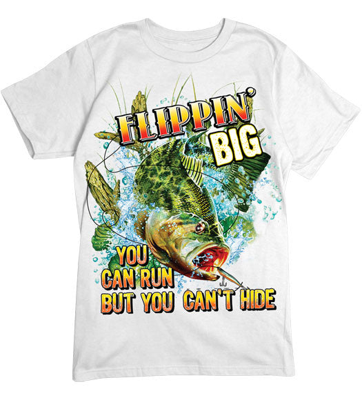 White - Men's Flippin' Big T-Shirt