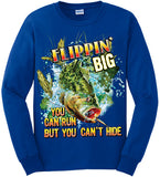 Royal - Men's Flippin' Big Long Sleeve Tee