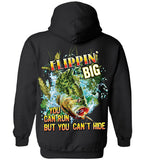 Black - Men's Flippin' Big Hoodie