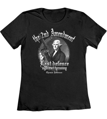 Black - Women's Last Defence T-Shirt