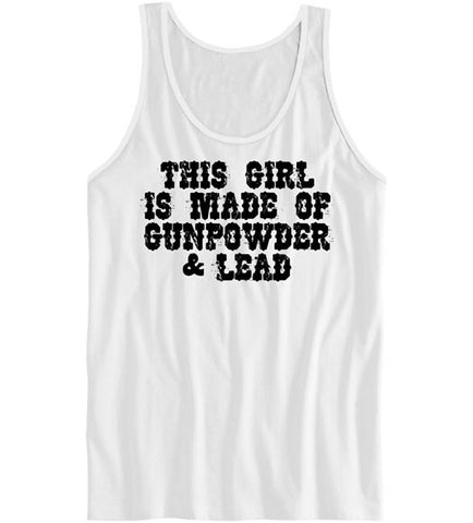 White - Women's Gunpowder and Lead Tank Top