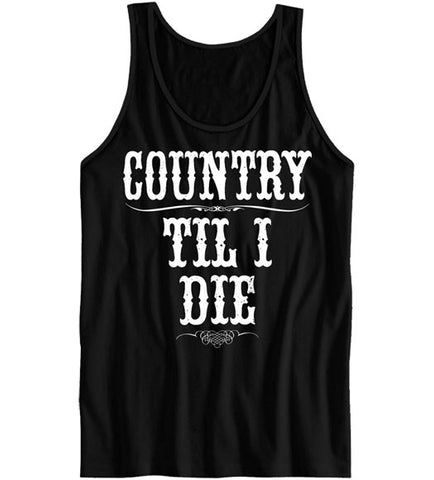 Black - Women's Til I Die Tank Top