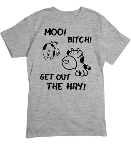 Sport Grey - Men's Get Out the Hay T-Shirt
