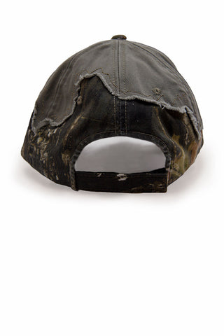 Country Boy® - Men's CB Logo Frayed Mossy Oak® Cap