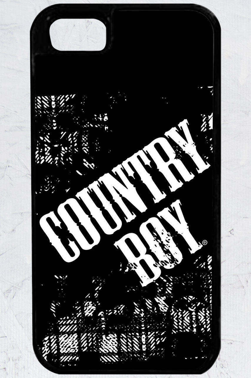 Country Boy® - Distressed Logo iPhone 5/5s Case