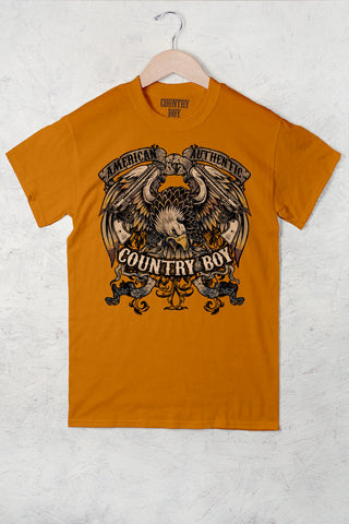 Mandarin Orange - Men's Eagle Tee