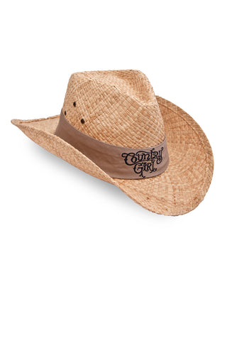 Women's CG Original Straw Hat Tank Band