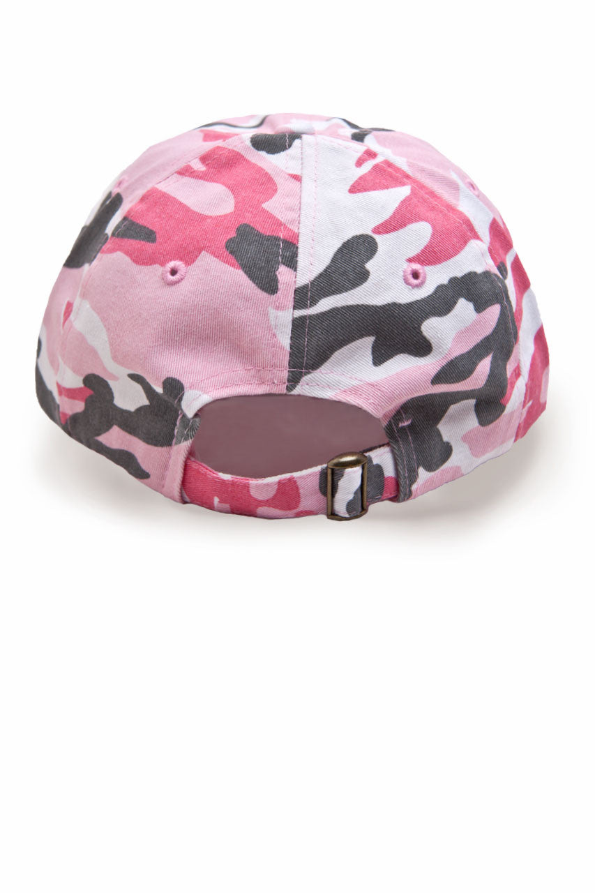 Country Girl® - Women's CG Pink Camo Cap