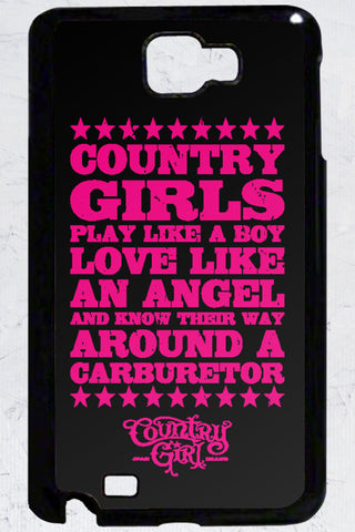 Country Girl® - Carburetor Samsung Galaxy Note Case
