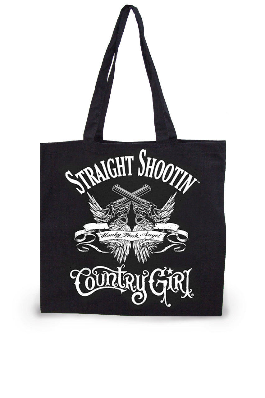 Straight Shootin' Lightweight Tote Bag