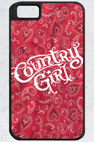 Country Girl® - Bandana Logo iPhone 4/4s Case