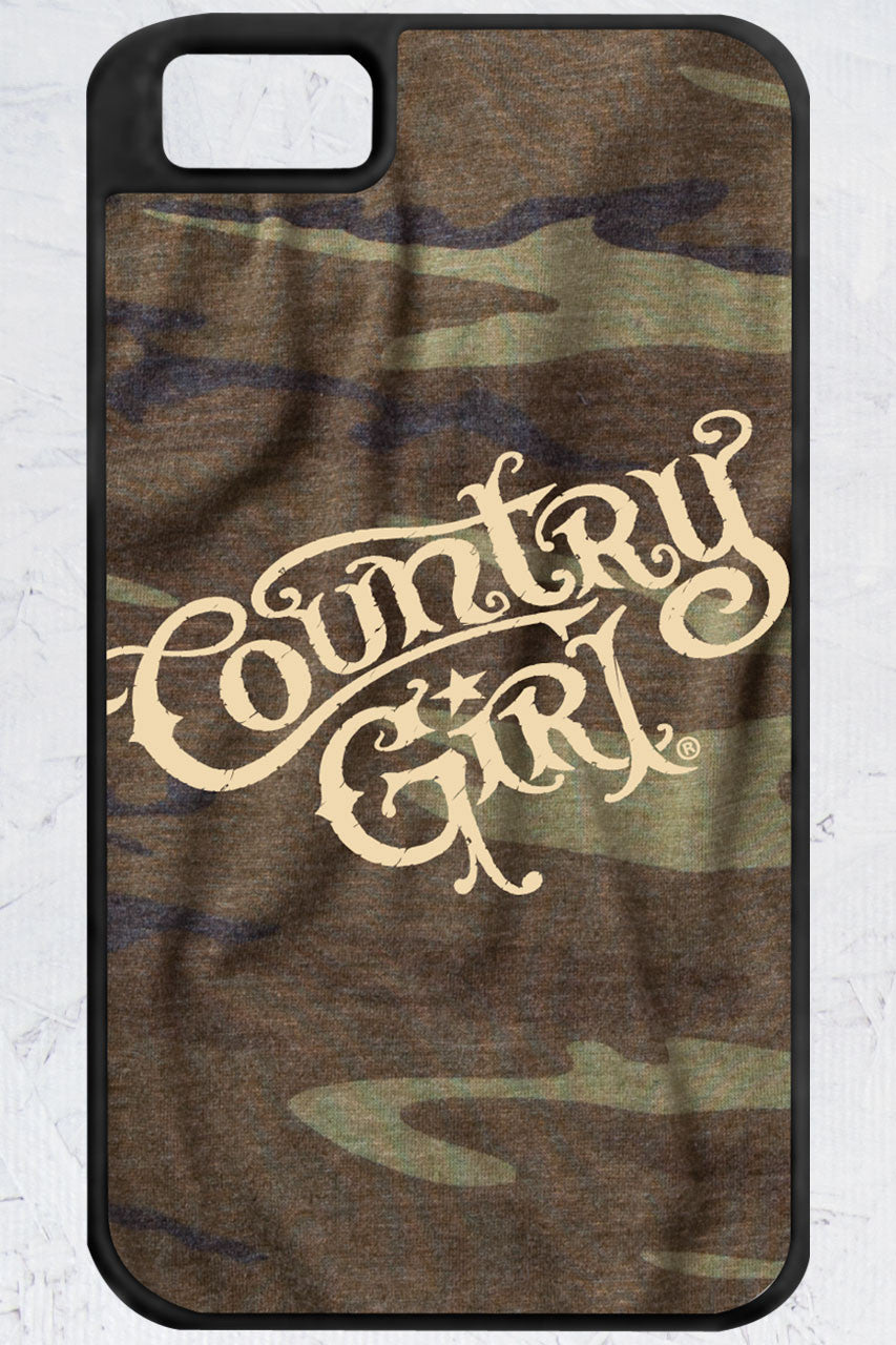 Country Girl® - Camo Logo iPhone 4/4s Case