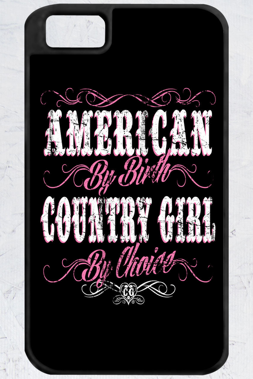 Country Girl® - American By Birth iPhone 4/4s Case