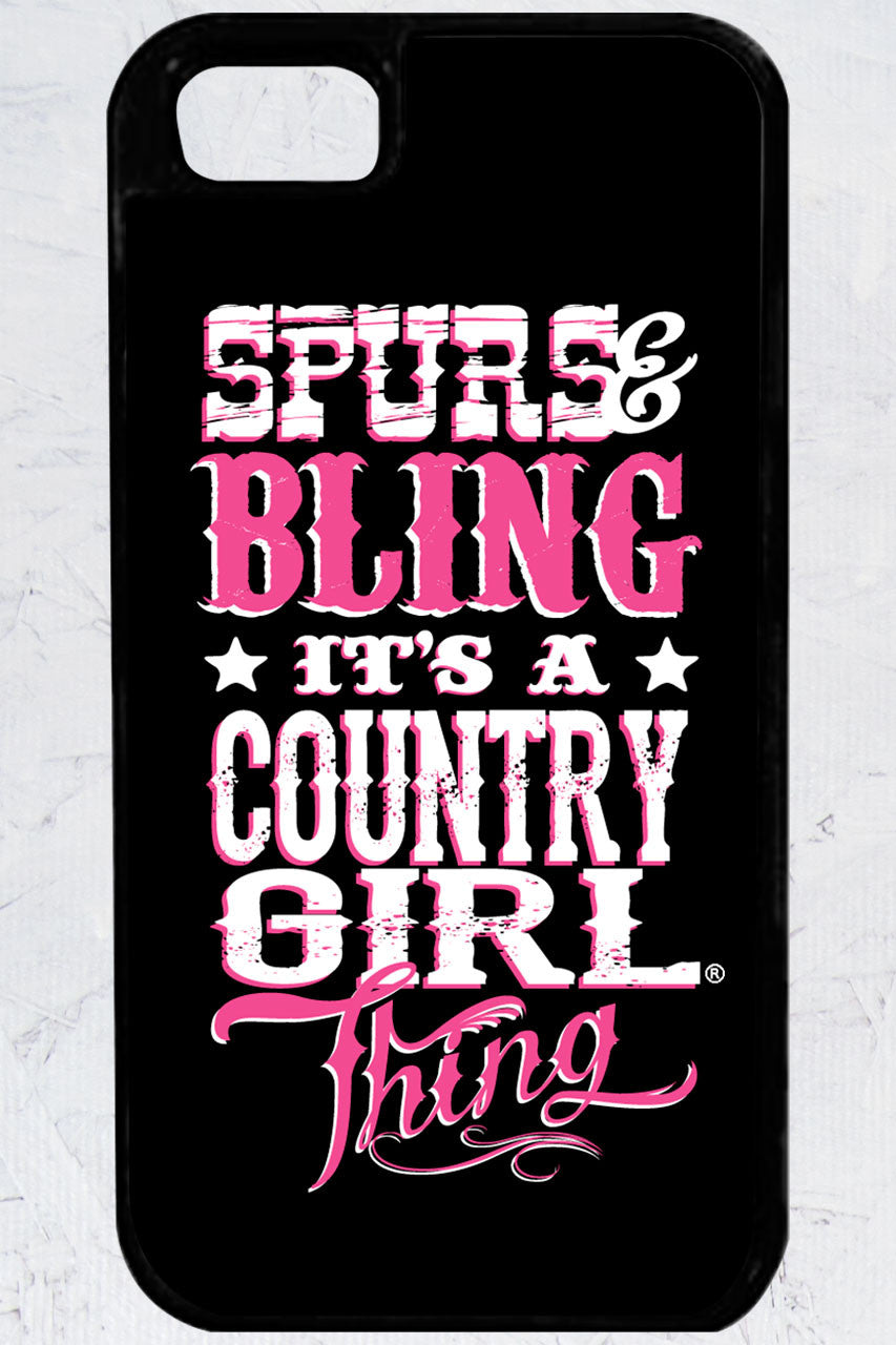 Country Girl® - Bling Thing iPhone 5/5s Case