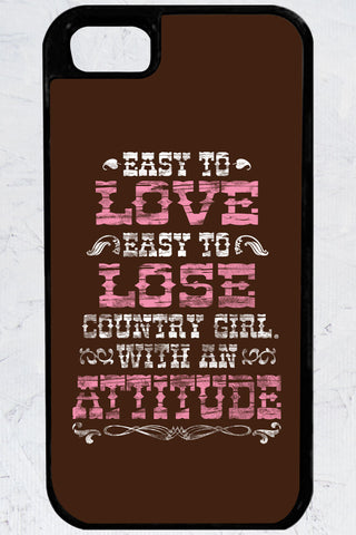 Country Girl® - Attitude iPhone 5/5s Case