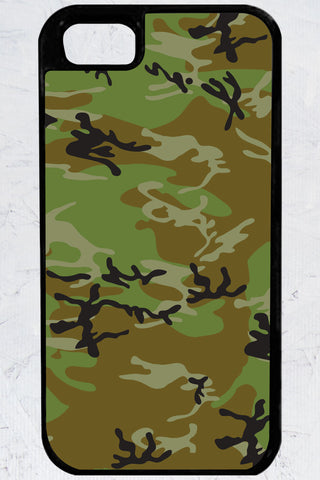 Country Girl® - Green Camo iPhone 5/5s Case