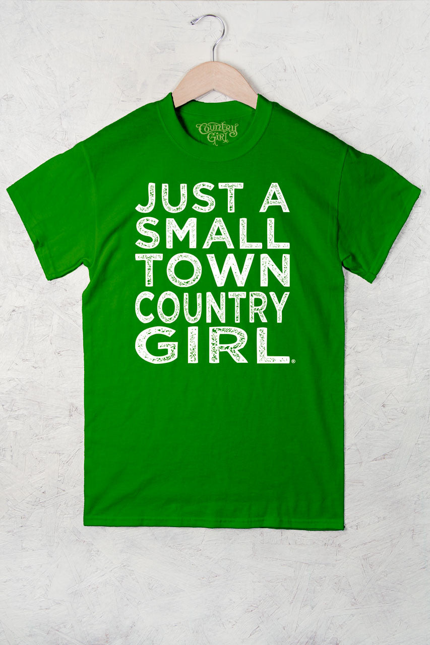 Green Apple - Women's Small Town Full Figure Short Sleeve Tee