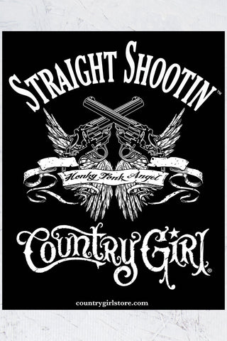"Country Girl® - Straight Shootin 8"" x 10"" Poster"