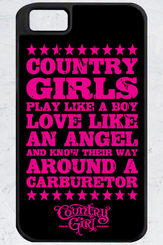 Country Girl® - Carburetor iPhone 4/4s Case