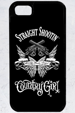 Country Girl® - Straight Shootin' iPhone 5/5s Case