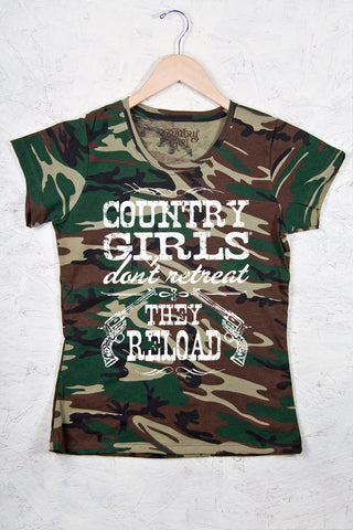 Green Camo - Women's Reload Camo Short Sleeve Tee
