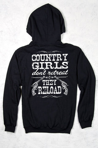 Black - Women's Reload Relaxed Pullover Hoodie